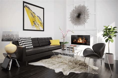 art deco living room furniture black yellow art deco living room gray and yellow living