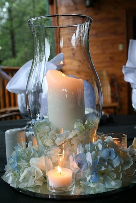 Hurricane Vase Centerpiece by Best 25 Hurricane Centerpiece Ideas On