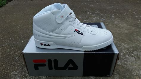 Fila F13 fila f13 high unboxed and on