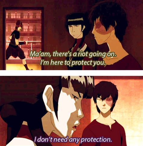 [Image - 380725] | Avatar: The Last Airbender / The Legend ... Zuko And Mai Gif