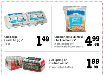 Cub Foods Gift Card Promotion - cub foods 4 day sale gift card promotion