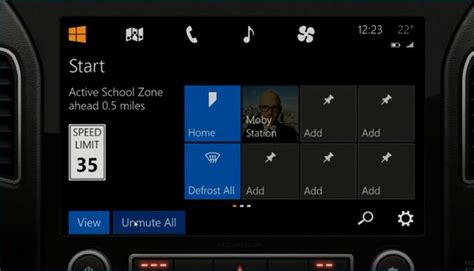 Ms Auto by Microsoft Shows Next Windows For Connected Cars