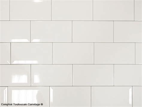 carrelage cuisine blanc carrelage mural 10x20 metro de blanc mainzu
