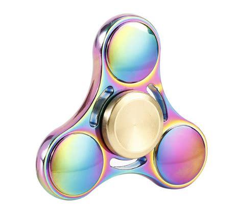 Neo Chrome Rainbow Speedy Metal Aluminium Fidget neo chrome tri gold fidget spinner fidget spinner uk
