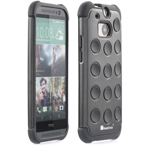 Htc One M8 Rugged by New For Htc One M8 Polka Dot Pattern Rugged
