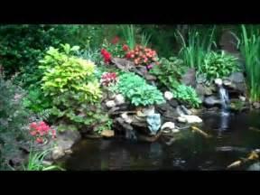 Backyard Koi Ponds Desain Kolam Ikan Hias Terbaik Youtube