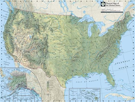 america map mountains and river physical map of usa with rivers and mountains