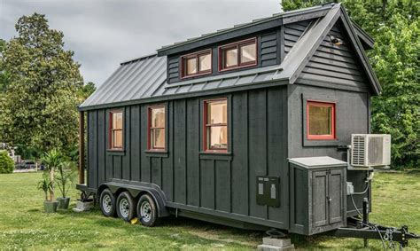 tiny house build towable riverside tiny house packs every conventional