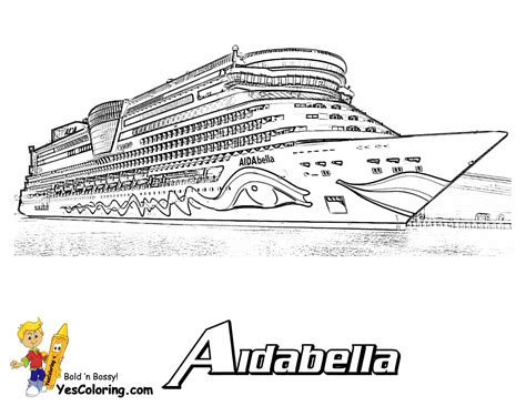 Cruise Coloring Pages coloring page cruise ships free cruise ship cruise