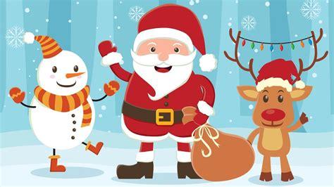 imagenes en ingles animadas videos de canciones de navidad en ingles m 250 sica de
