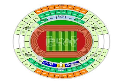 estadio azteca detailed stadium seating soccer stadiums world s ten largest by seating capacity