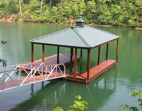 boat dock roof design boatdock with boat slip and metal roof boathouse dock