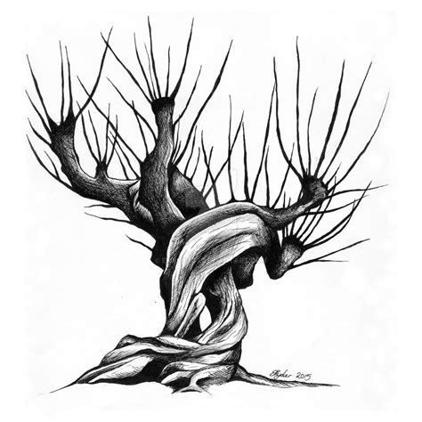 whomping willow by emilyr103 on deviantart