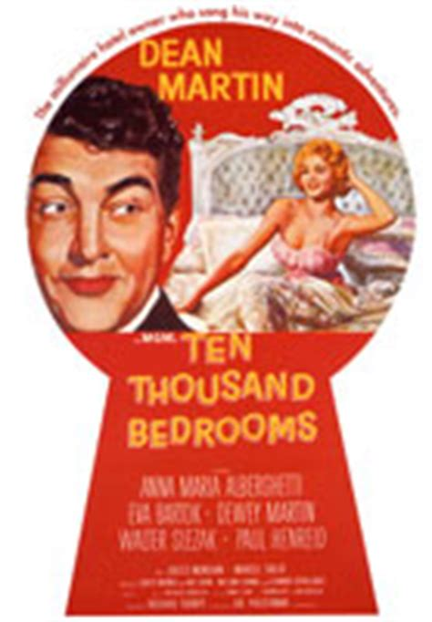 Ten Thousand Bedrooms by Musiclovers Dean Martin Filmography