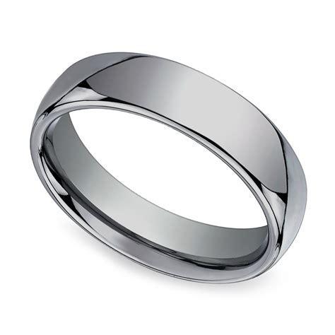 Comfort Fit Men's Wedding Ring in Tungsten (6mm)