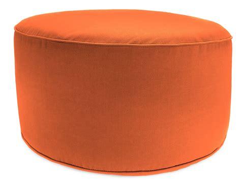 round ottoman pouf round ottoman foot stool pouf 25 quot