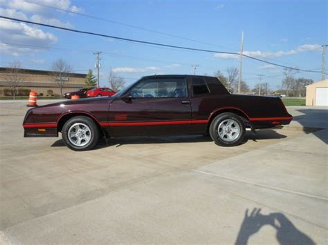 sell   chevrolet monte carlo ss  tops excellent