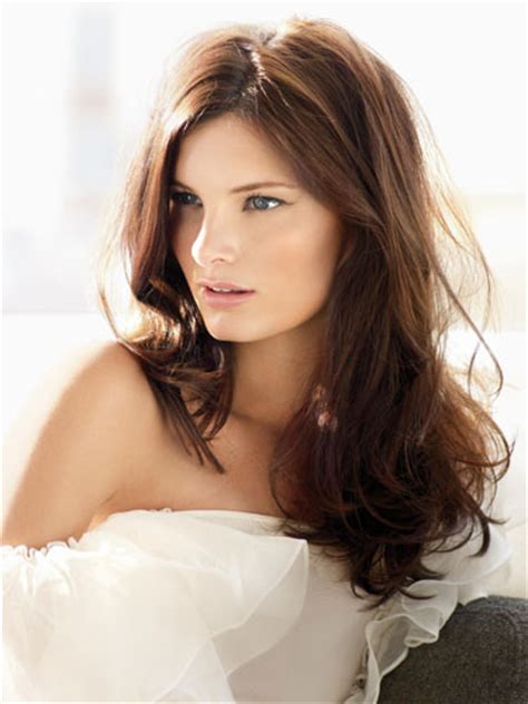 hairstyles brown hair brown hair color type pictures