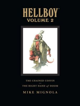 hellboy library edition volume 1593079109 hellboy library edition volume 2 the chained coffin and others the right hand of doom by mike