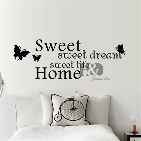 cute sayings for home decor aliexpress com buy sweet home pvc quotes wall stickers