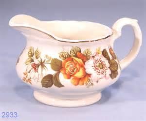 royal tudor ware rosina vintage ironstone milk jug cream