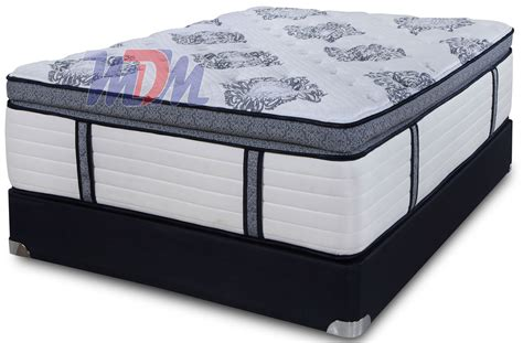 How Much Does A Pillow Top Mattress Cost by Coil On Coil Hybrid Pillow Top Luxury At A