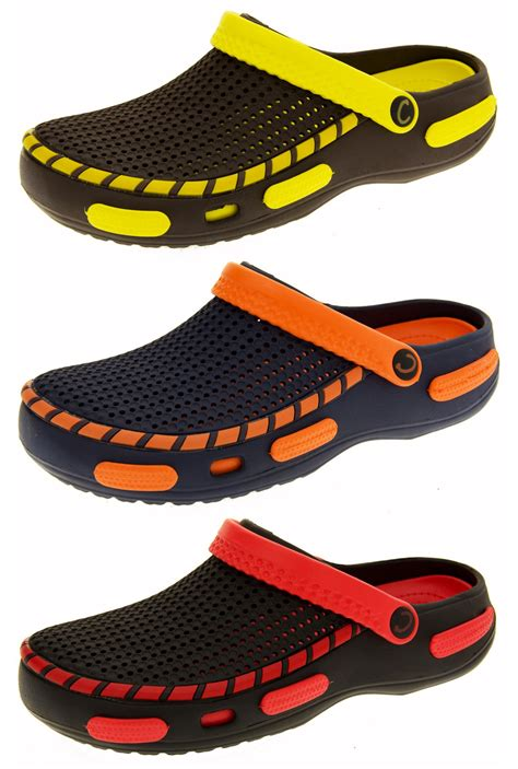 comfortable clogs and mules mens holiday slip on comfortable clog sandals mules comfy