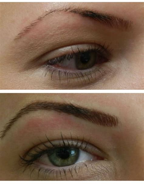 new eyebrow tattoo technique www permanentmakeupbymary permanent eyebrow makeup