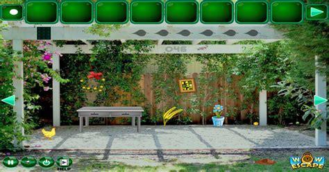 flash игра backyard escape