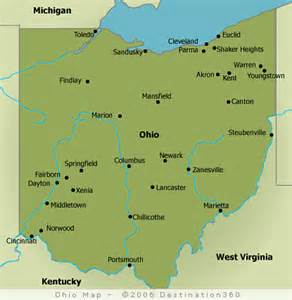 Ohio Map Cities by Gallery For Gt Ohio Map For Kids