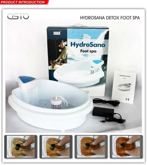 Detox Spa Equipment by Electronic Detox Foot Cleanse Spa With Ce Rohs Buy Foot