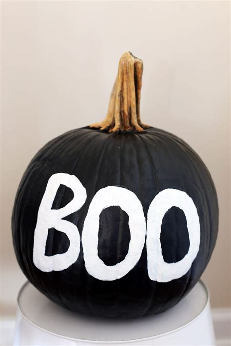 diy spooky painted pumpkin the sweetest occasion