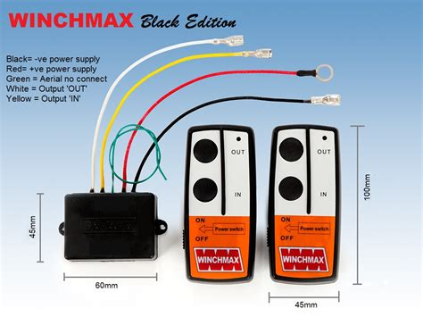 wireless winch remote wiring diagram wiring diagram with