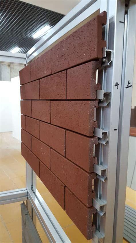 corium wall brick cladding system  facade pinterest