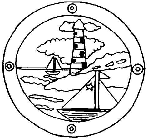 dessin bateau avec hublot dessins de phares 224 colorier