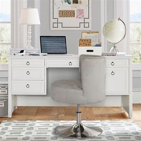 pottery barn desk pbteen desk chair hostgarcia