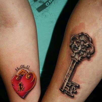 lock and key tattoo for couples lock and key couple tattoo tattoo pinterest