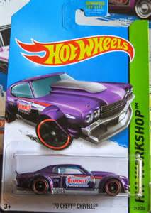 2014 Hot Wheels '70 Chevy Chevelle SS Super Treasure Hunt
