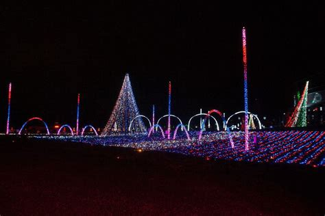 christmas lights at adventure park usa