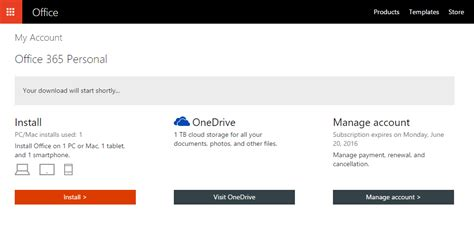 Office Install by How To Activate Free Office 365 Subscription With The