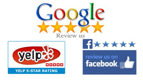 review us on google write a review on your google plus business facebook or