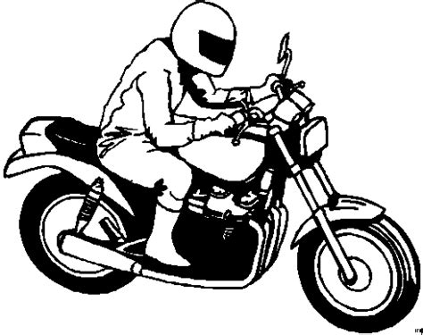Motorradtouren Zum Runterladen by Motorradfahrer Motorrad Ausmalbild Malvorlage Die Weite