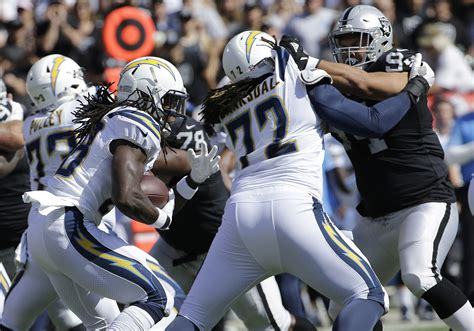 chargers raiders chargers vs raiders live updates from oakland alameda