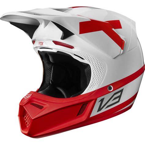 Limited Edition Motorcross Jpx Fox Racing Helmet Helm Motorcross 2018 fox racing limited edition v3 preest helmet white