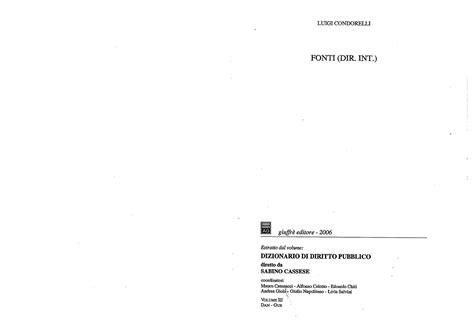 Dispense Diritto Internazionale by Corte Internazionale Di Giustizia Statuto Dispense