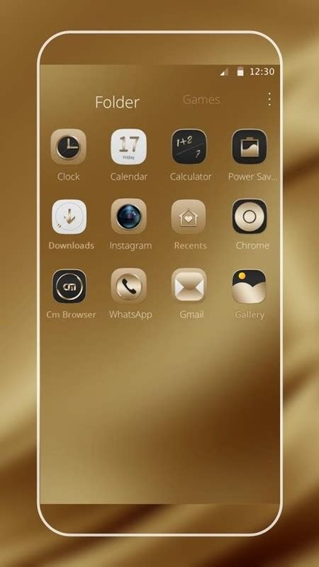 gold themes free download gold silk for samsung huawei free android theme download