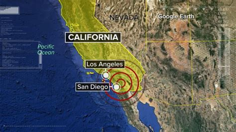earthquake just now 5 2 magnitude earthquake rattles southern california felt