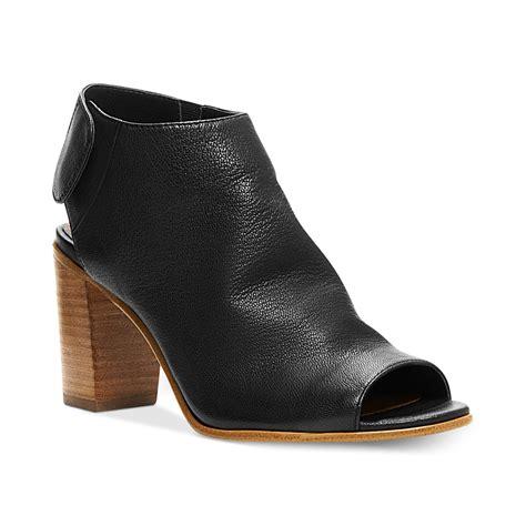 steve madden booties steve madden womens nonstop booties in black lyst