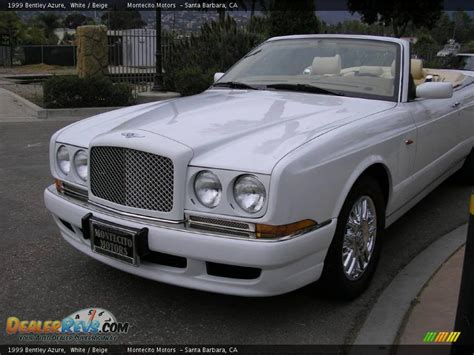 1999 bentley azure 1999 bentley azure white beige photo 14 dealerrevs com