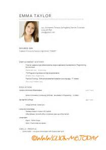 Best Resume Model For Job by Cv Modele Le Dif En Questions